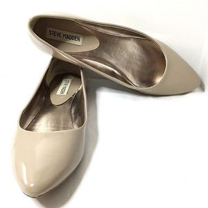 Steve Madden~Ibiza Ballet Flats~Almond~Tan~Size 8M